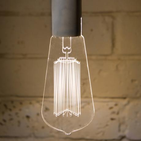 Squirrel Cage Pendant Lamp // Classic