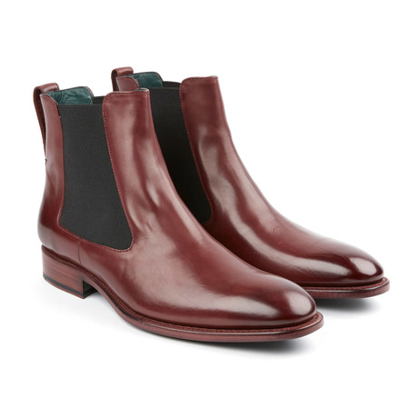The Rog Chelsea Boot // Oxblood