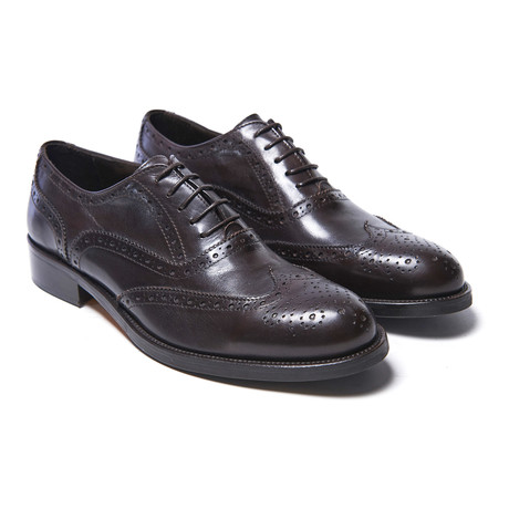 Wing-Tip Oxford // Dark Brown