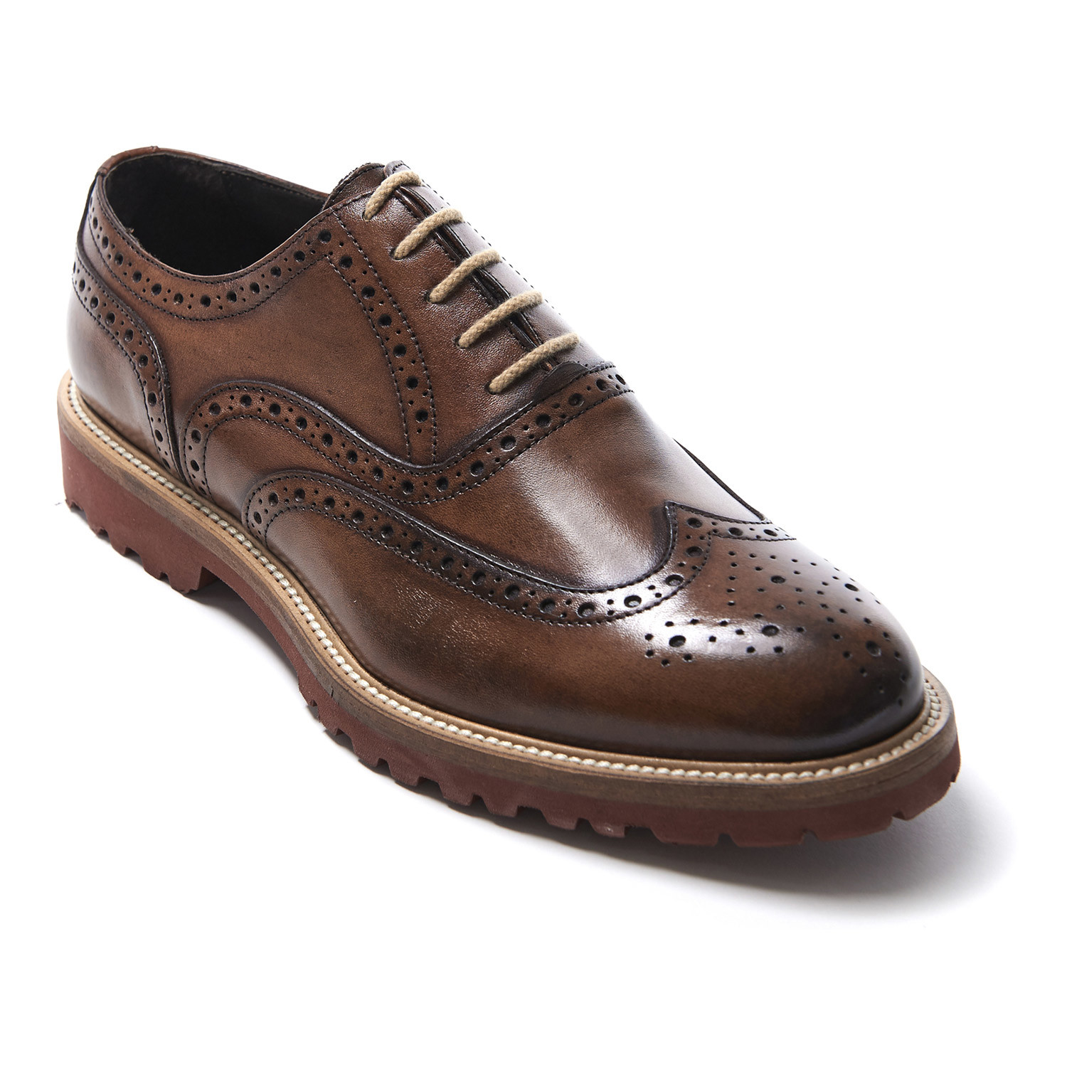 Classic Wing Cap Oxford Brown Euro 40 British