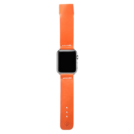 Apple Watch Bespoke Leather Band // Orange