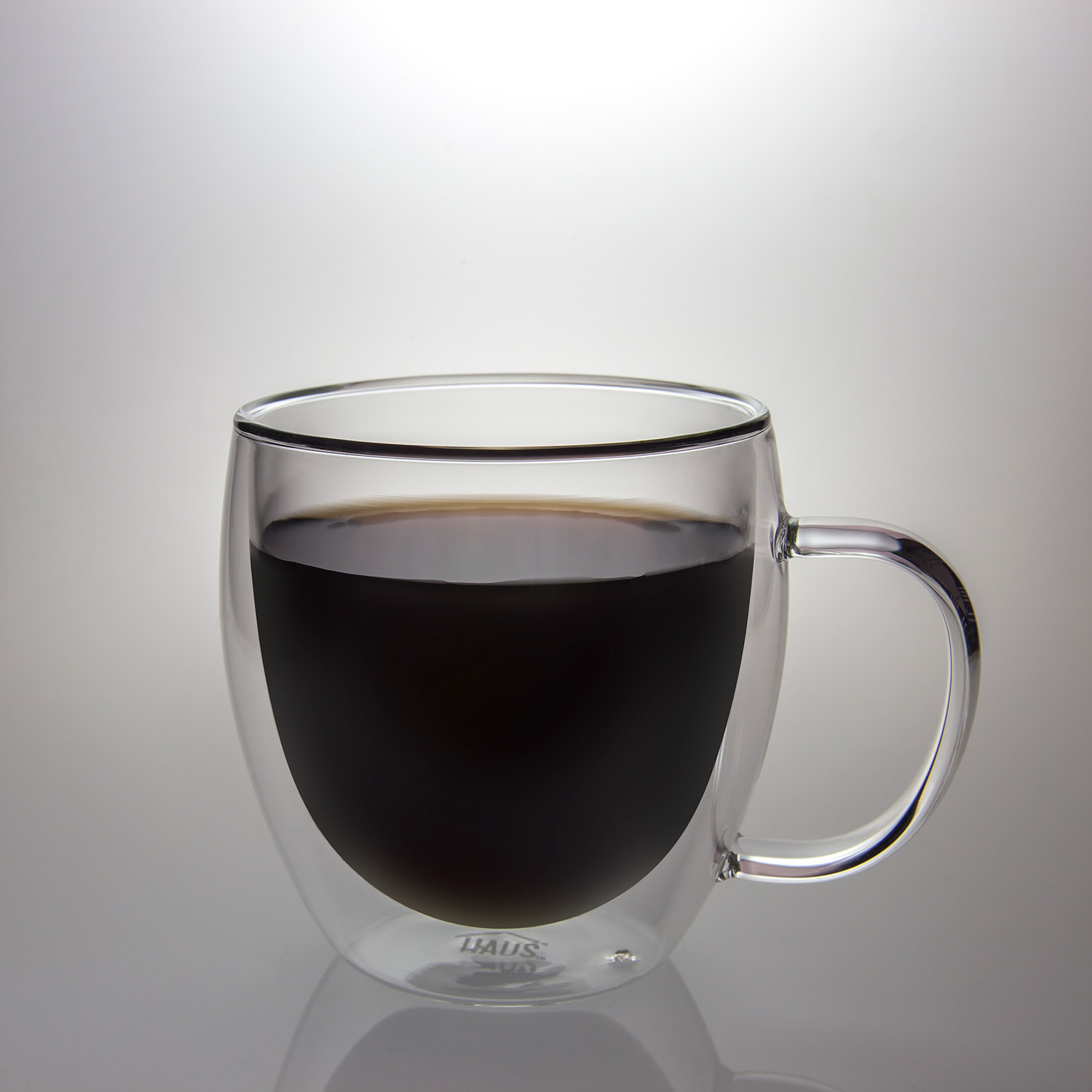 Small Pix Of Large Cups To : Small glass coffee cup set of haus by kalorik