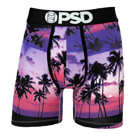 Sunset Dos Boxer-Brief // Purple