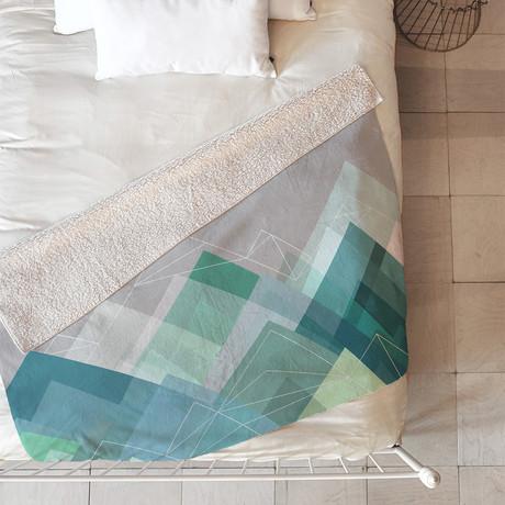 Graphic 107 Y // Fleece Throw Blanket