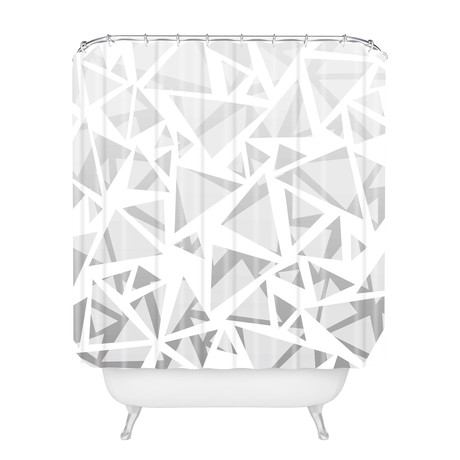 Triangles I // Shower Curtain