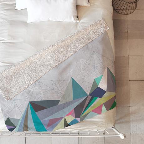 Colorflash 1 X // Fleece Throw Blanket