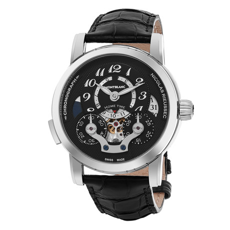 Montblanc Nicolas Rieussec Open Home Time Automatic // 107070