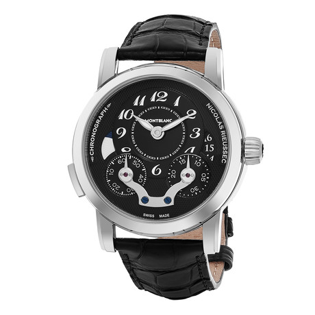 Montblanc Nicolas Rieussec Chronograph Automatic // 106488