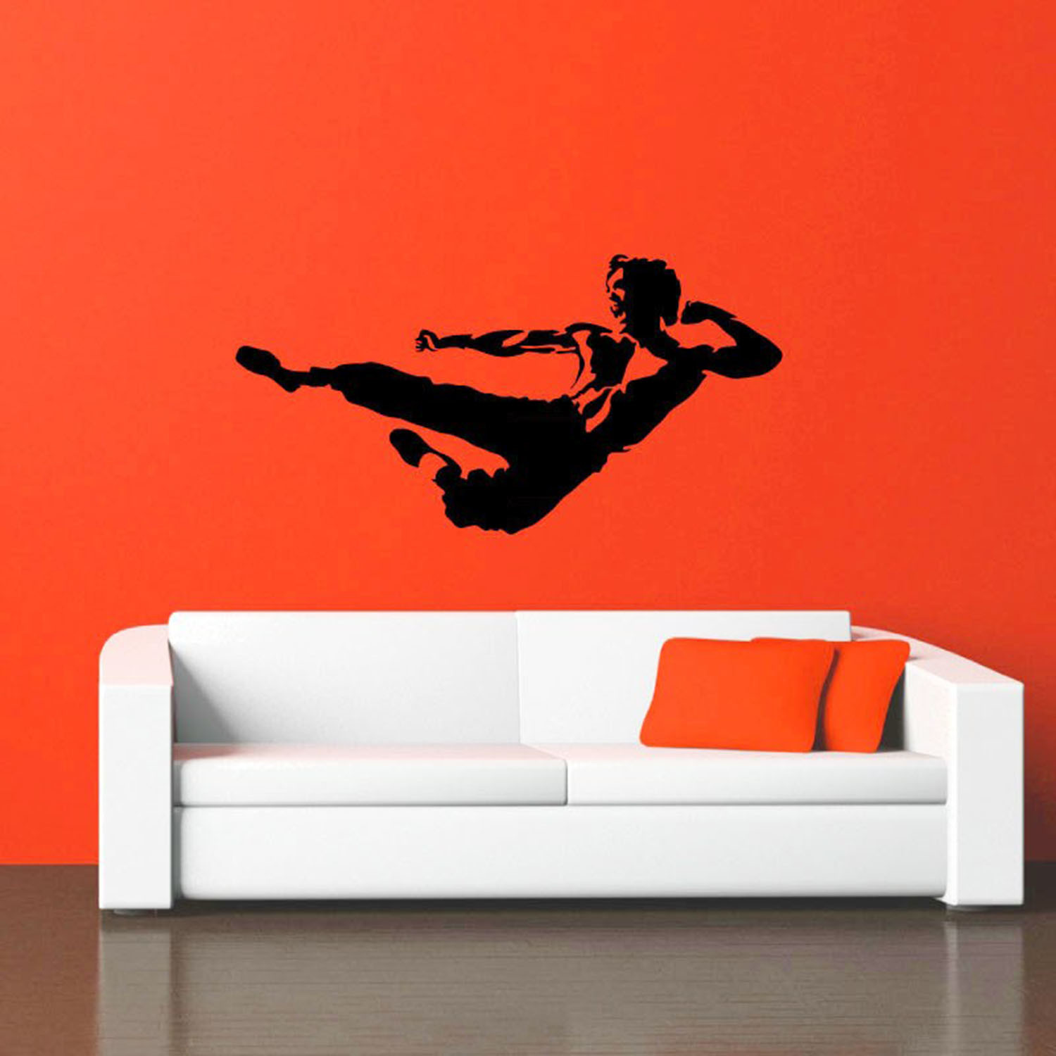 Ambiance Wall Stickers bruce lee karate - ambiance sticker - touch of modern