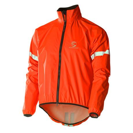 Storm Jacket // Firecracker Red