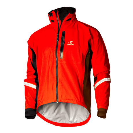 Elite 2.1 Jacket // Cayenne Red (S)