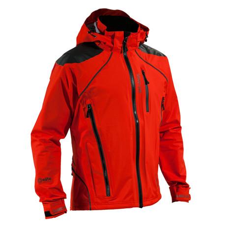 Refuge Jacket // Cayenne Red