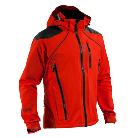 Refuge Jacket // Cayenne Red (S)