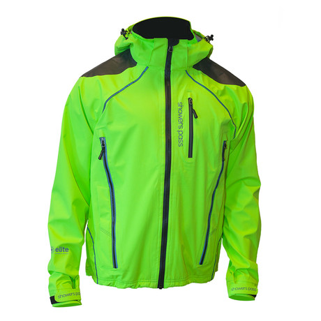 Refuge Jacket // Neon Green (S)