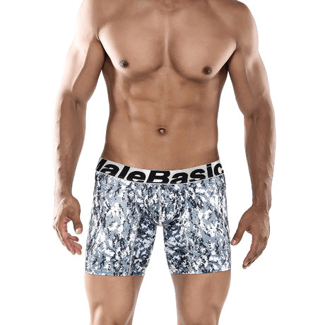 Microfiber Boxer Brief // Snow Camo
