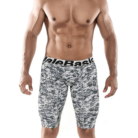 Athletic Camo Boxer Brief // Jungle