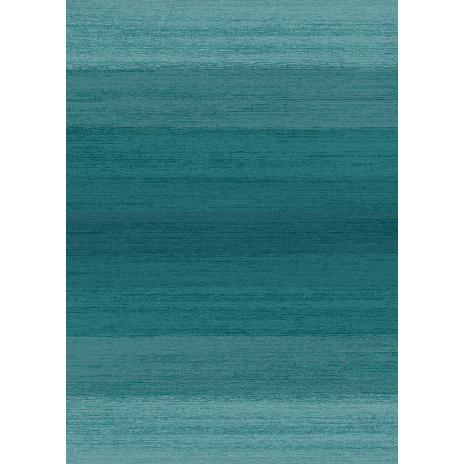 Washable Rug Nonslip Pad Ombre Blue 5 X 7