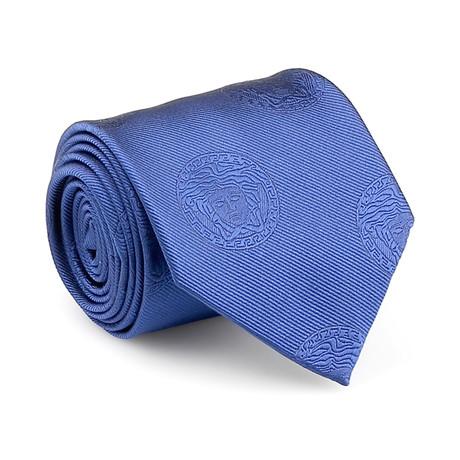 Medusa Silk Tie / Purple