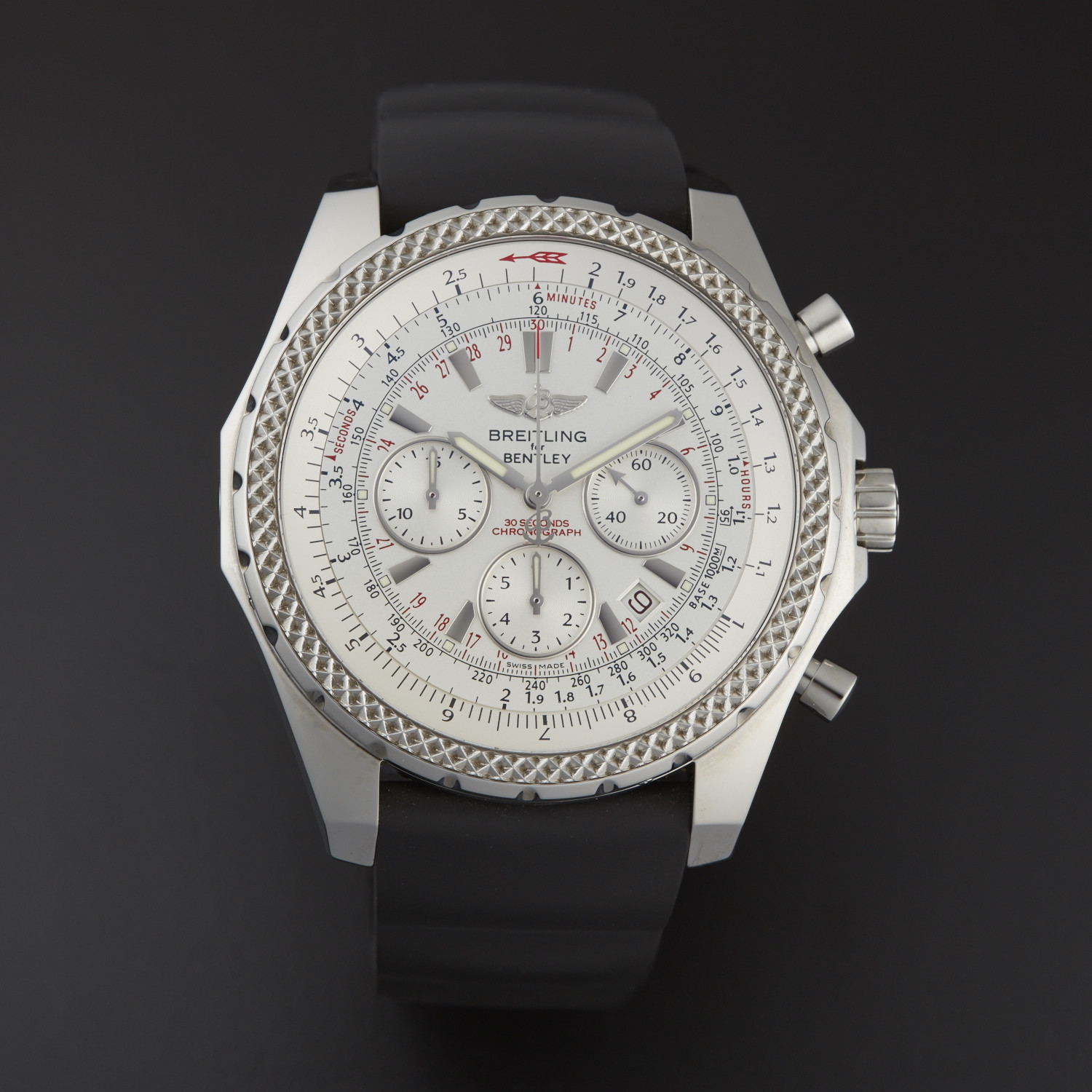 steel men motors breitling bentley stainless s chronograph