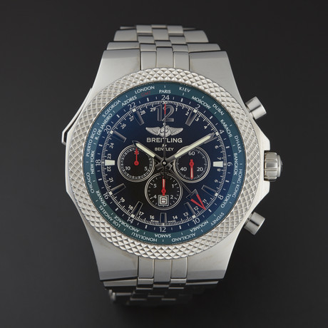 Breitling Bentley GMT Chronograph Automatic // A47362S4/B919 // Store Display