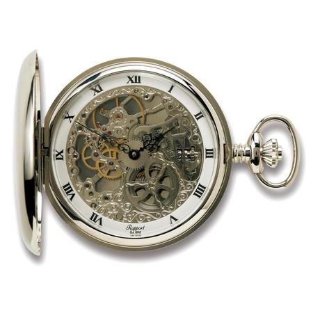 Rapport London Double Full Hunter Pocket Watch Manual Wind // PW91
