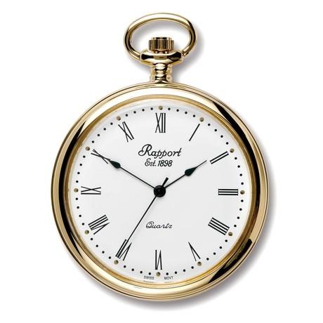 Rapport London Open Face Pocket Watch Quartz // PW50