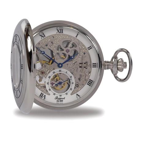 Rapport London Double Half Hunter Pocket Watch Manual Wind // PW45