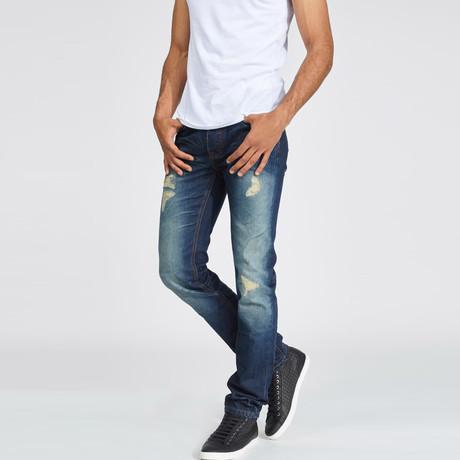 Arik Straight Fit Jean // Heavy Stone