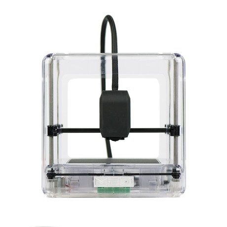 The Micro 3D Printer // Clear + PLA Bundle (Neutral Bundle)