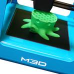 The Micro 3D Printer // Clear + PLA Bundle (Neutral Bundle)
