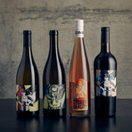 Iconic Wines Hero Series // 4 Bottles