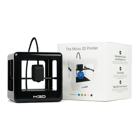 The Micro 3D Printer // Black + PLA Bundle (Neutral Bundle)