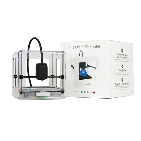 The Micro 3D Printer // Clear + Tough 3D Ink Bundle (Construction Bundle)