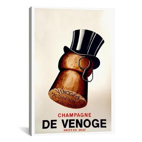 "Champagne Cork // Vintage Apple Collection (12""W x 18""H x 0.75""D)"