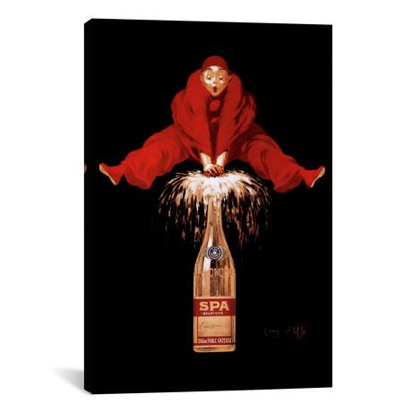 "Belgium Liquor Red Man // Vintage Apple Collection (12""W x 18""H x 0.75""D)"