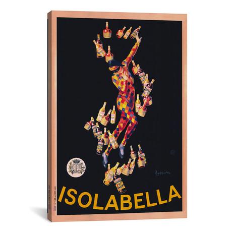 """Isolabella (Vintage) // Leonetto Cappiello (26""""W x 40""""H x 1.5""""D)"""