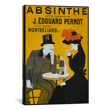 "Absinthe, Pernot - Vintage Poster // Vintage Apple Collection (26""W x 40""H x 1.5""D)"