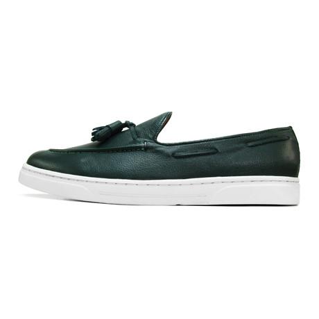 Cazador Tassel Sneaker // Green