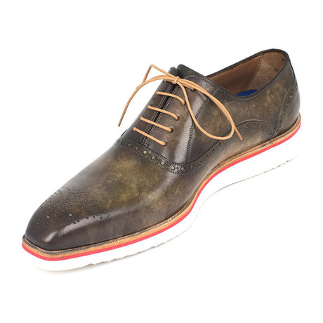 Smart Casual Oxford // Green (US: 7)