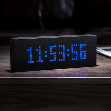 uMessage Click Clock // Black