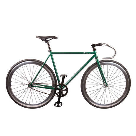 Single Speed // Version 3 // Forest Green Metallic + Polished