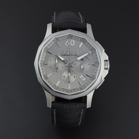 Corum Admiral's Cup Legend 42 Chronograph Automatic // 984.101.20/0F01 FH10 // Store Display