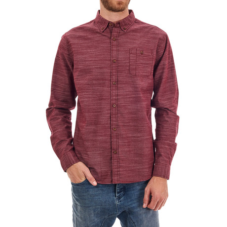 Terry Shirt // Burgundy