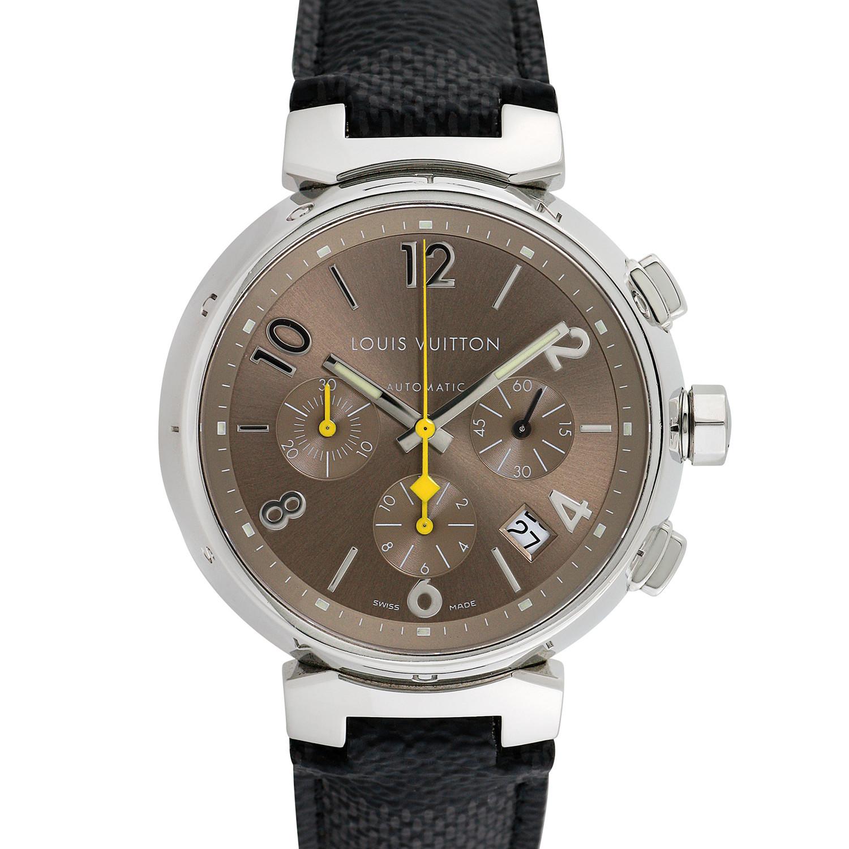 Louis Vuitton Tambour Chronograph Automatic // Q1122 ...