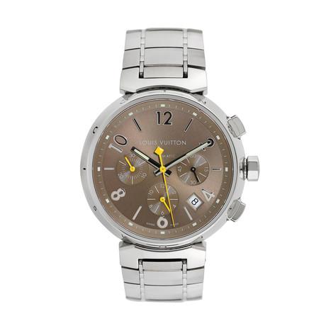 Louis Vuitton Tambour Chronograph Automatic // Q1122 // c.2000's // Pre-Owned