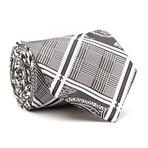 Hand Made Tie // Grey + Black