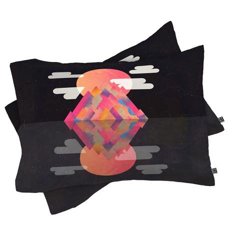 Dark Peaks // Pillow Case // Set of 2