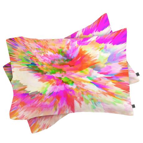 Color Explosion IV // Pillow Case // Set of 2