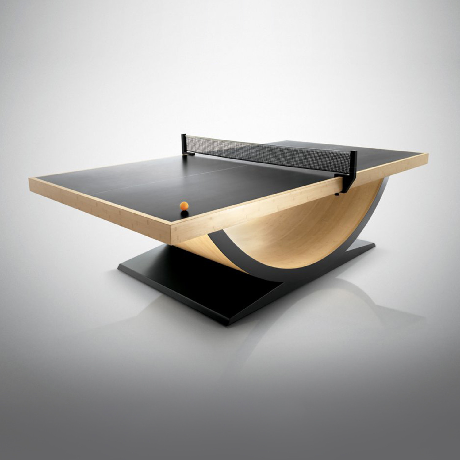 theseus // ping pong table (bamboo finish) - 11 ravens - touch of