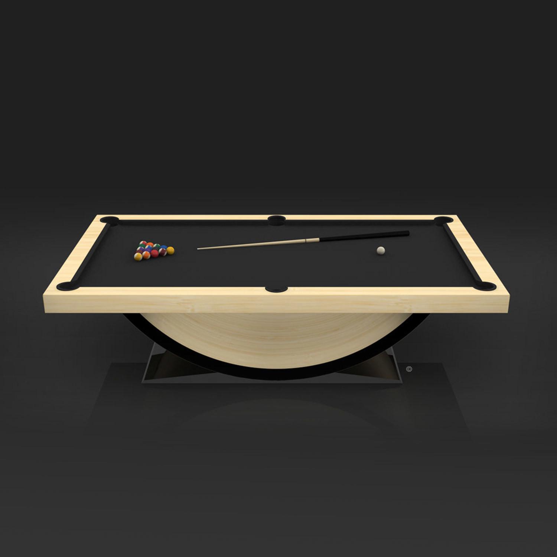 Theseus // Billiards Table (Brushed Aluminum Finish)